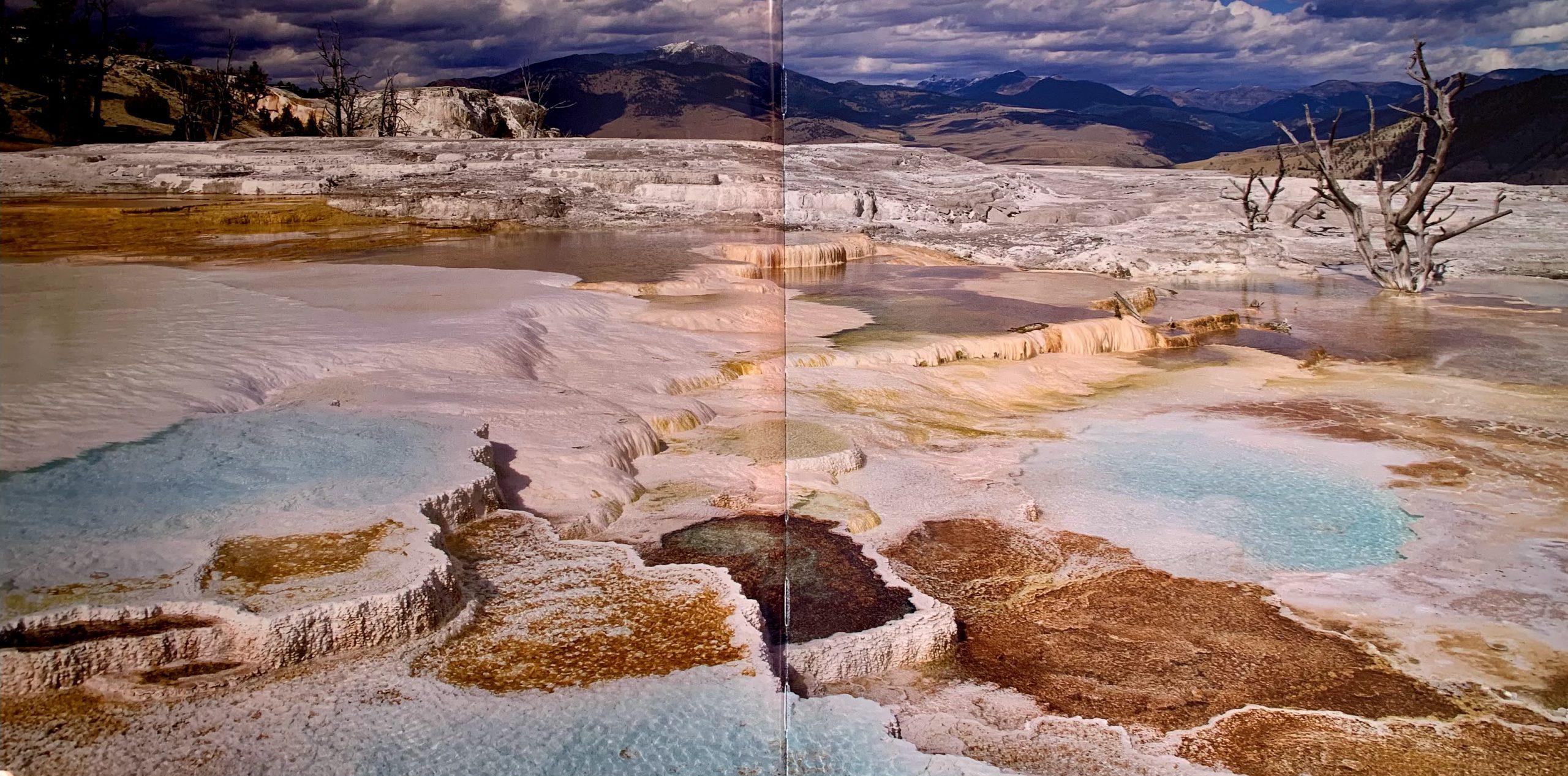 Exemple de paysage figurant dans le livre